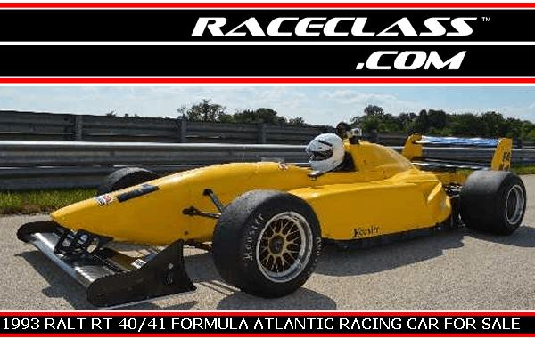 1993 RALT RT 40/41 FORMULA ATLANTIC RACING CAR FOR SALE on RaceClass.com   #RaceClass