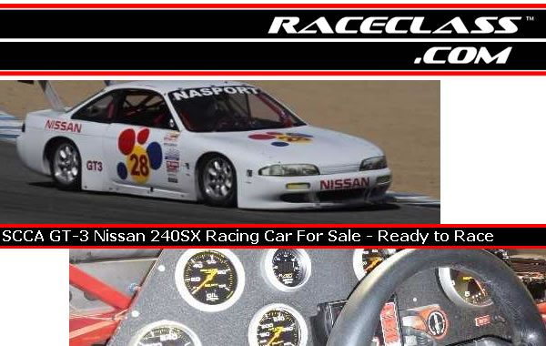 Scca Gt  Nissan Sx Racing Car