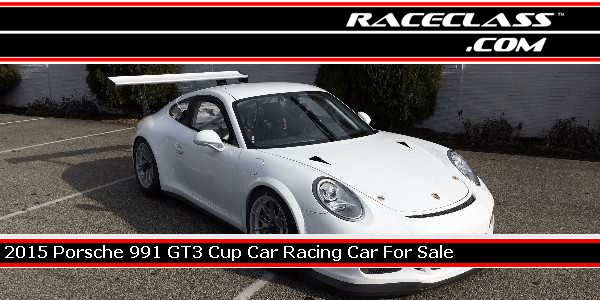 2015 Porsche 991 GT3 Cup Car World Challenge Racing Car For Sale | #RACECLASS