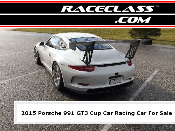 2015 World Challenge Porsche 991 GT3 Cup Car World Challenge Racing Car For Sale | #RACECLASS