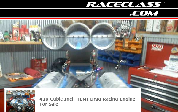 This 426 HEMI Racing Engine is For Sale on RaceClass.com