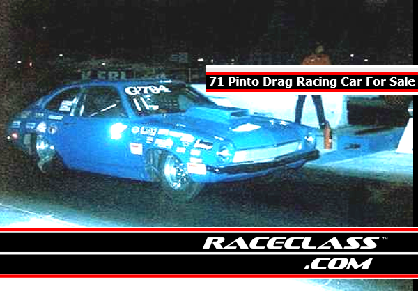 1971 Pinto Drag Racing Car For Sale at the Drag Strip