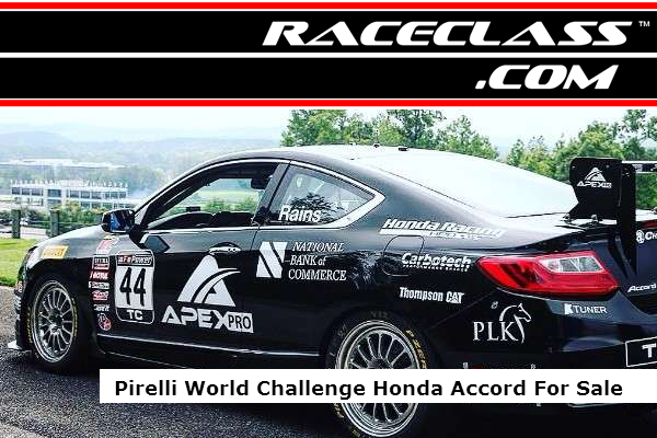 For Sale Honda Accord World Challenge Racing Car