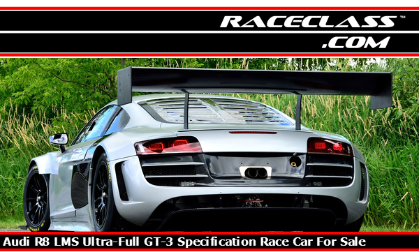 This Audi R8 GT3 Racing Car is For Sale on RaceClass.com | #RaceClass