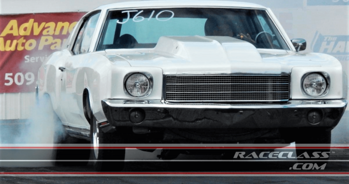 This 1970 Monte Carlo SS Drag Racing Car is For Sale on RaceClass.com
