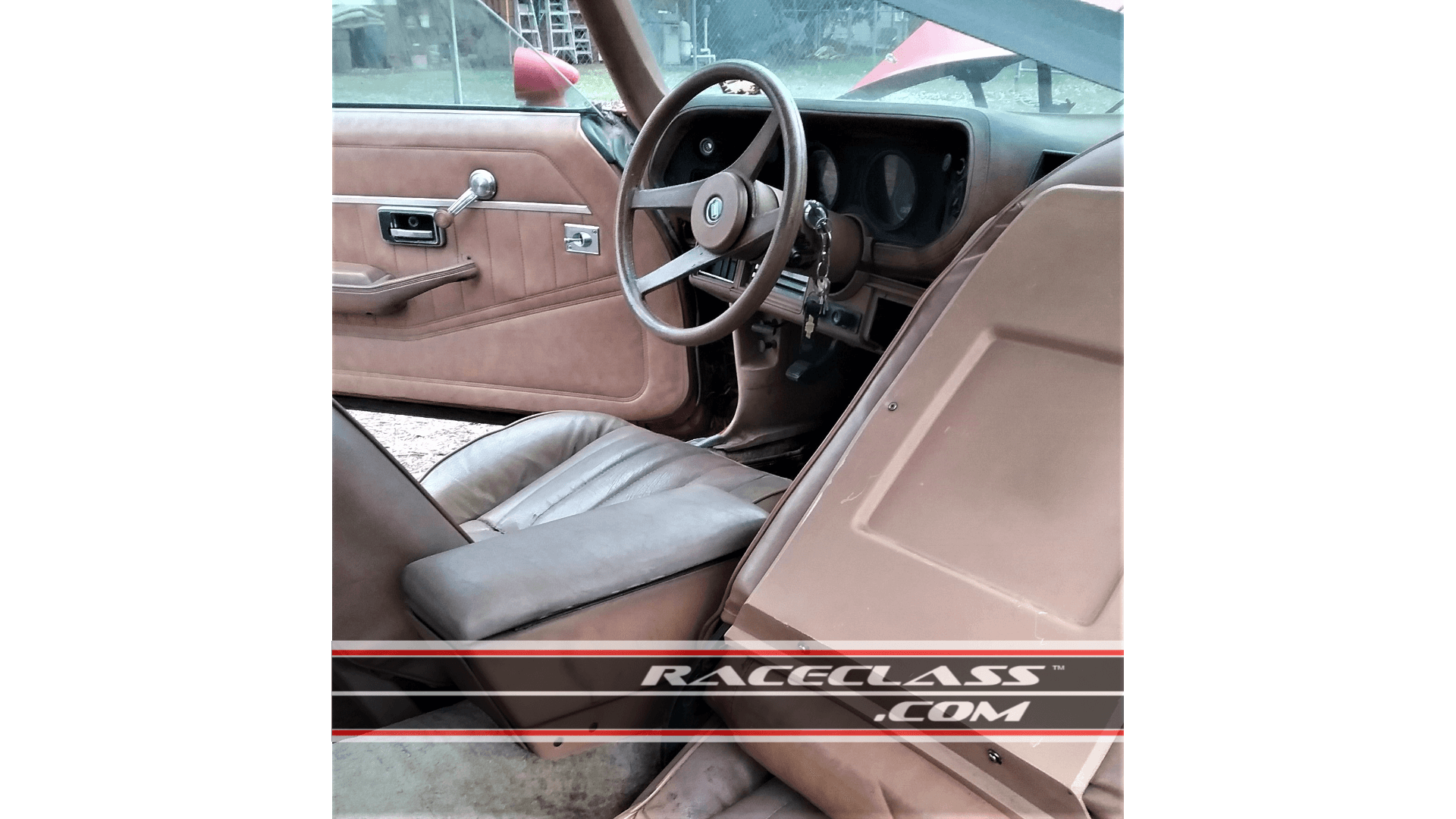 Interior Image of this Stock Unmolested Rust Free Barn Find 1978 Camaro For Sale