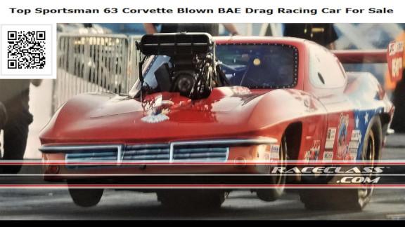 1963 Split Window Corvette Pro Mod Legal Top Sportsman Drag Racing Car For Sale on RaceClass.com